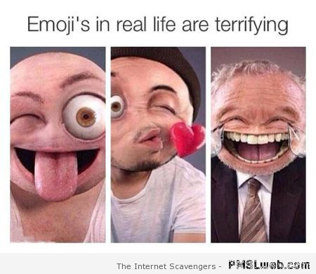 Emoticons in real life – Saturday hilarity at PMSLweb.com