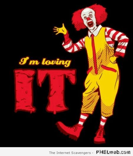 Ronald Mc IT – Stephen King humor at PMSLweb.com