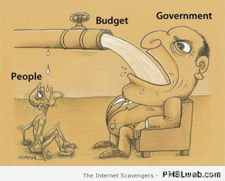 Funny budget explained – Hump day fun zone at PMSLweb.com