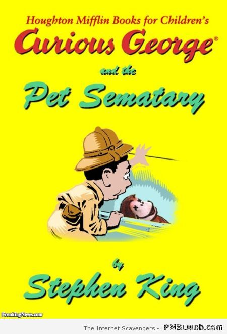 Curious George and the pet Sematary at PMSLweb.com