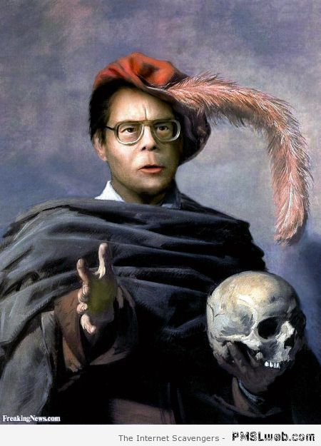 Stephen King is Hamlet at PMSLweb.com