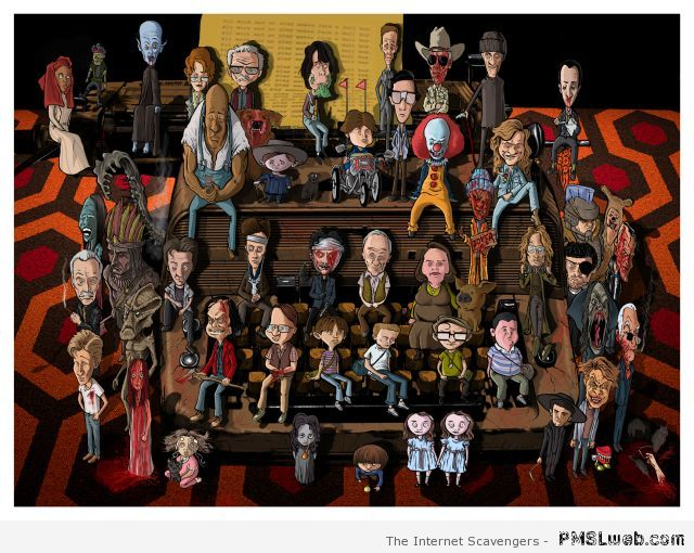 Stephen King characters – Stephen King humor at PMSLweb.com