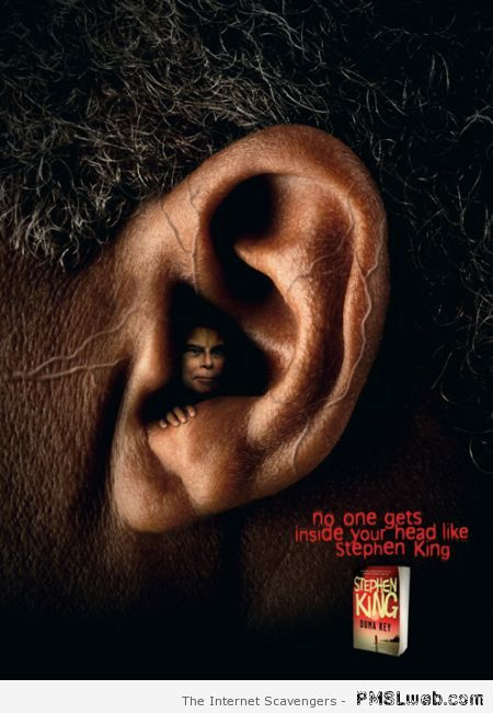 Duma key Stephen King advert at PMSLweb.com