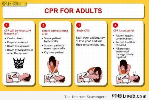 CPR for adults funny – ROFL pictures at PMSLweb.com