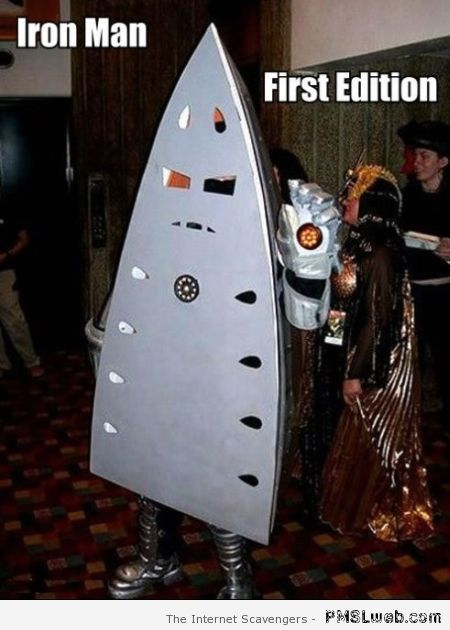 Funny Iron Man first edition – Funny Thursday pics at PMSLweb.com