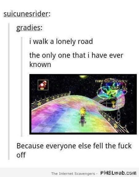 Funny Green Day and rainbow road – Hump day fun zone at PMSLweb.com