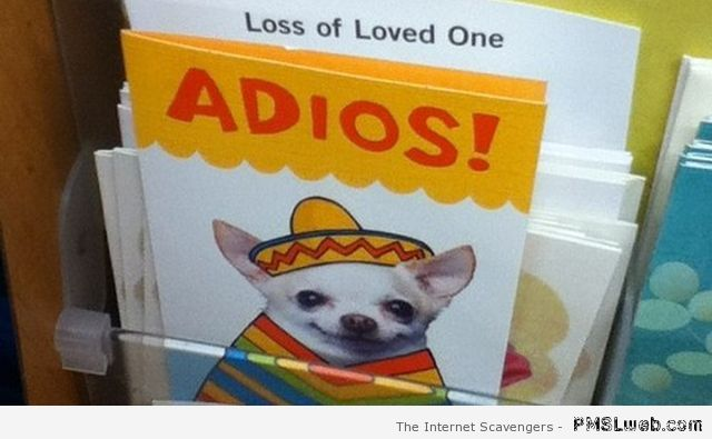 Loss of a loved one card fail at PMSLweb.com