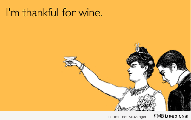 I'm thankful for wine ecard at PMSLweb.com
