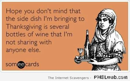 Funny Thanksgiving ecard at PMSLweb.com