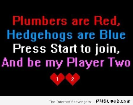 Player two funny poem at PMSLweb.com