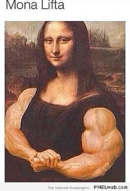 Mona Lisa lifts – Saturday madness at PMSLweb.com
