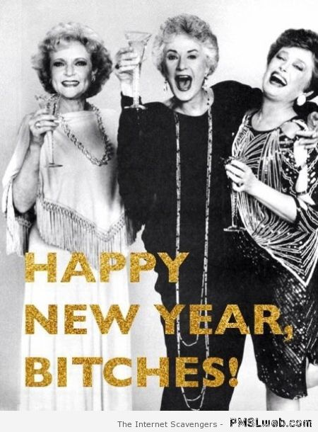 Happy New year bitches – New Year funnies at PMSLweb.com
