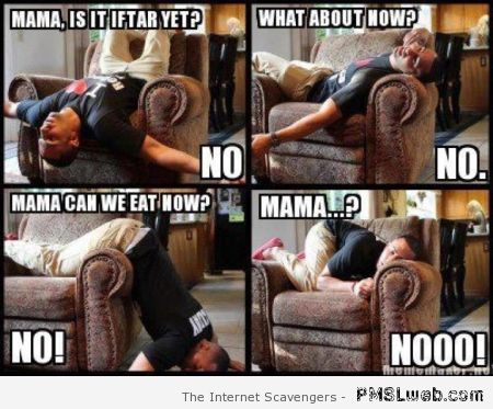 Is it iftar yet meme at PMSLweb.com