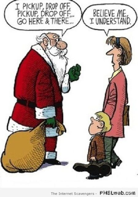 The life of Santa Claus humor at PMSLweb.com