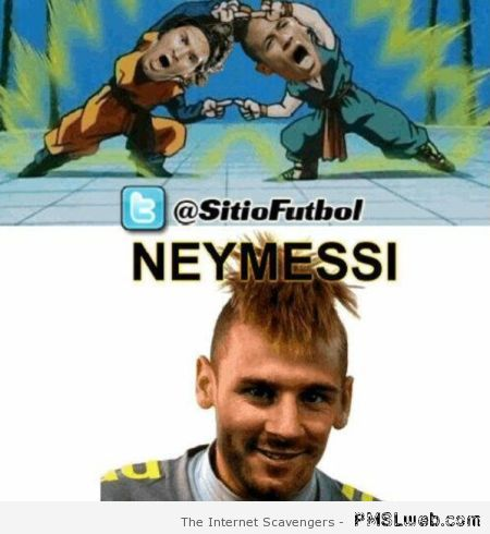 Dragon ball Neymessi  fusion at PMSLweb.com