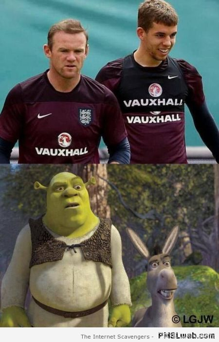 Rooney and Flanagan versus Shrek at PMSLweb.com