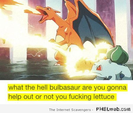 Funny Pokemon comment at PMSLweb.com