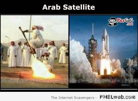 Funny Arab satellite at PMSLweb.com