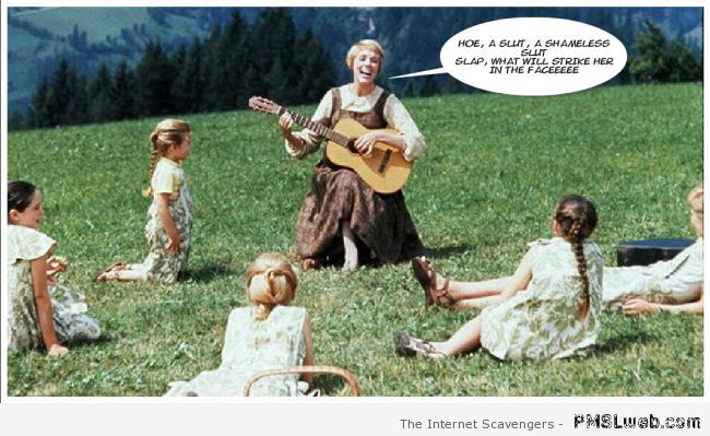 Funny sound of music edit at PMSLweb.com