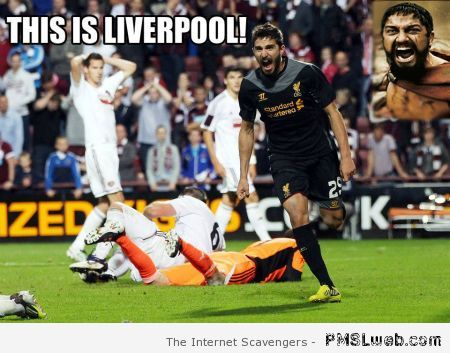This is Liverpool football meme at PMSLweb.com