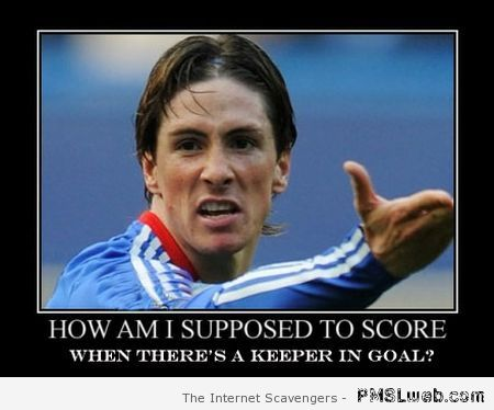 Fernando Torres demotivational at PMSLweb.com