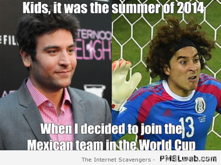 Ted Mosby FIFA world cup meme at PMSLweb.com