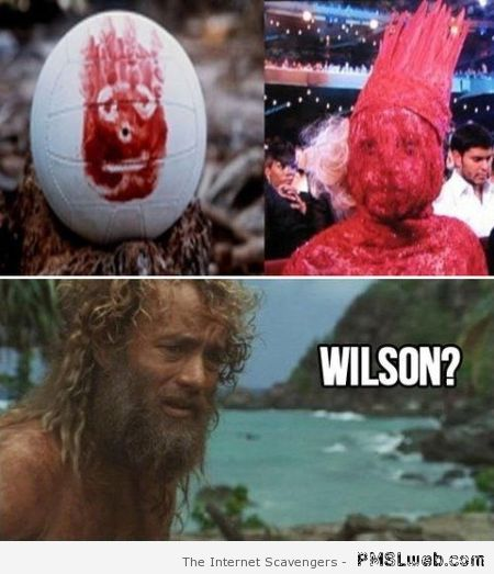 Lady gaga is Wilson meme – Witty Thursday at PMSLweb.com