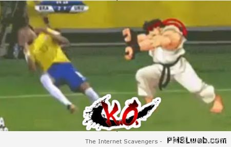 Neymar Street fighter KO at PMSLweb.com