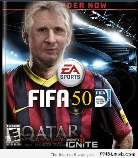 Funny FIFA 50 – Funny Football pictures at PMSLweb.com