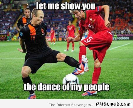The dance of my people football meme at PMSLweb.com