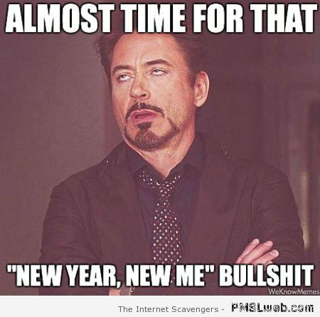 New Year new me meme – New Year funnies at PMSLweb.com