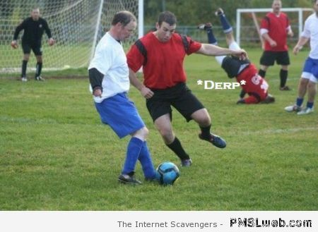 Funny derp football at PMSLweb.com