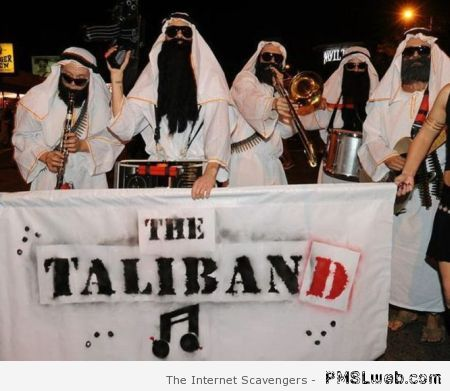 The Taliband humor at PMSLweb.com