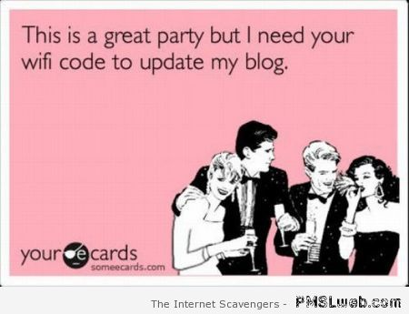 This is a great party ecard at PMSLweb.com