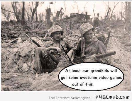 Funny war caption – Funny Wednesday images at PMSLweb.com