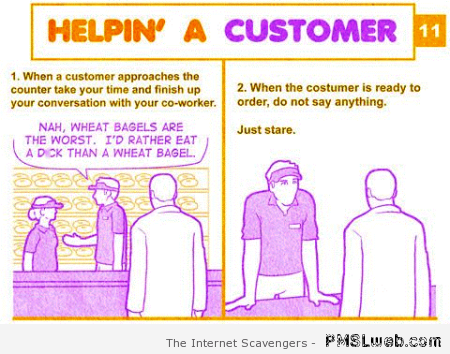 Helping a customer humor – Amusing pictures at PMSLweb.com