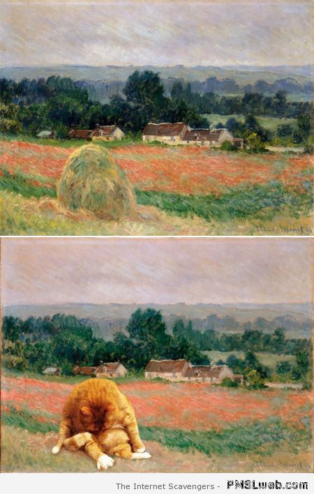 Funny Monet painting revisited at PMSLweb.com