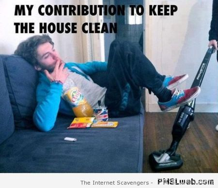 My contribution to keeping the house clean at PMSLweb.com