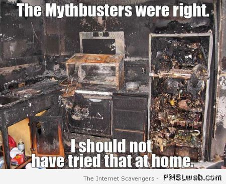 Mythbusters were right meme at PMSLweb.com
