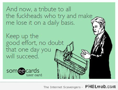 Sarcastic tribute ecard – Mischievous Hump day at PMSLweb.com