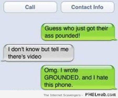 Grounded autocorrect fail at PMSLweb.com