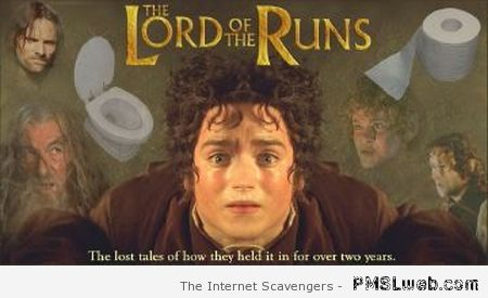 Lord of the runs at PMSLweb.com