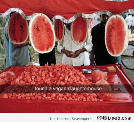 Funny vegan slaughterhouse at PMSLweb.com