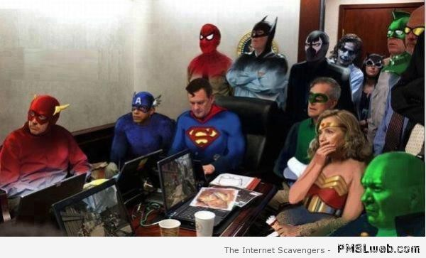 Government justice league – Funny Wednesday images at PMSLweb.com