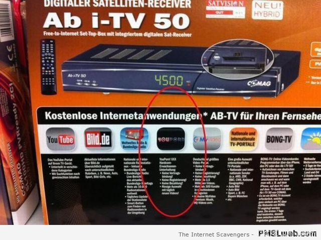 Satellite receiver fail – Thursday PMSL at PMSLweb.com