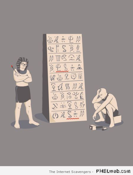 Ancient Egypt spell check at PMSLweb.com