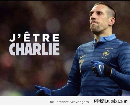 Ribery je suis Charlie at PMSLweb.com