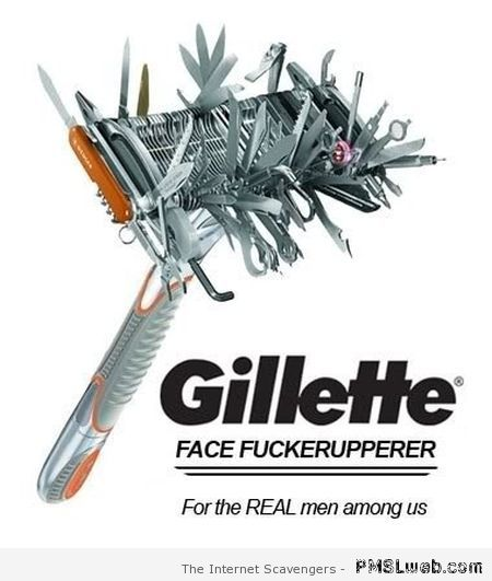 Gillette humor at PMSLweb.com