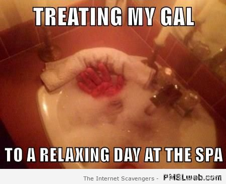Forever alone spa meme – Funny pictorama  at PMSLweb.com