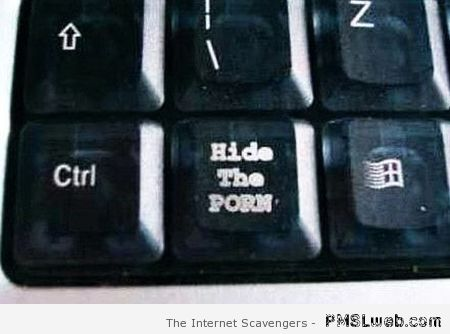Hide the porn keyboard button at PMSLweb.com